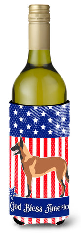Buy this Malinois Belgian Shepherd  American Wine Bottle Beverge Insulator Hugger BB8413LITERK