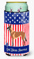 Malinois Belgian Shepherd  American Tall Boy Beverage Insulator Hugger BB8413TBC by Caroline's Treasures