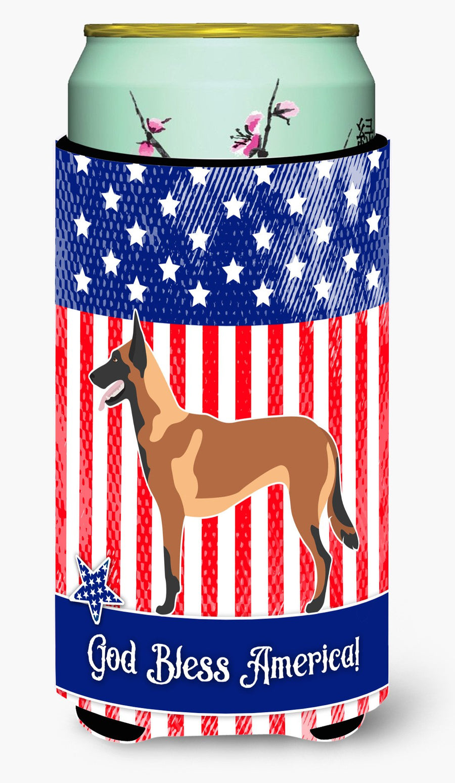 Buy this Malinois Belgian Shepherd  American Tall Boy Beverage Insulator Hugger BB8413TBC
