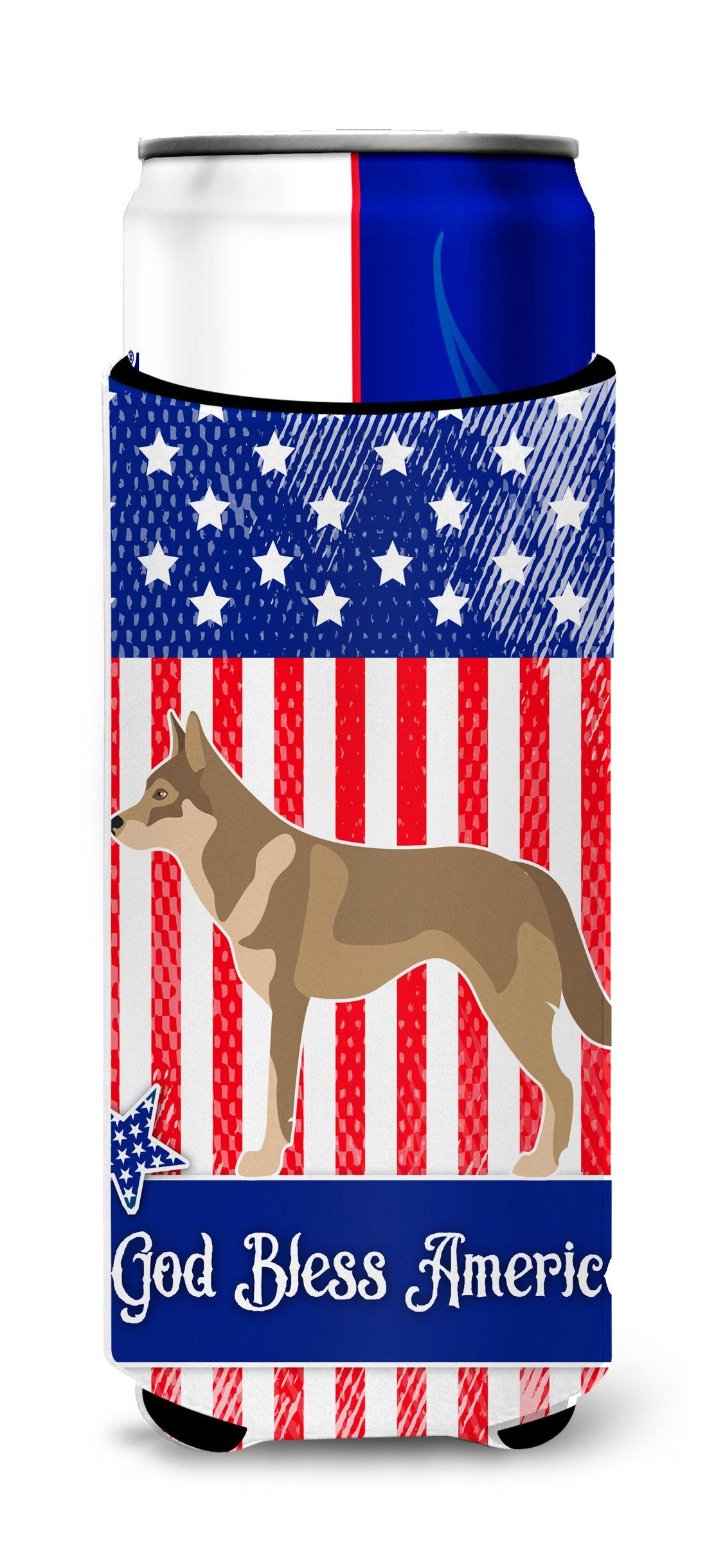 Buy this Czechoslovakian Wolfdog American Michelob Ultra Hugger for slim cans BB8416MUK