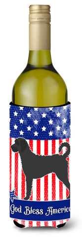 Buy this Labradoodle American Wine Bottle Beverge Insulator Hugger BB8418LITERK