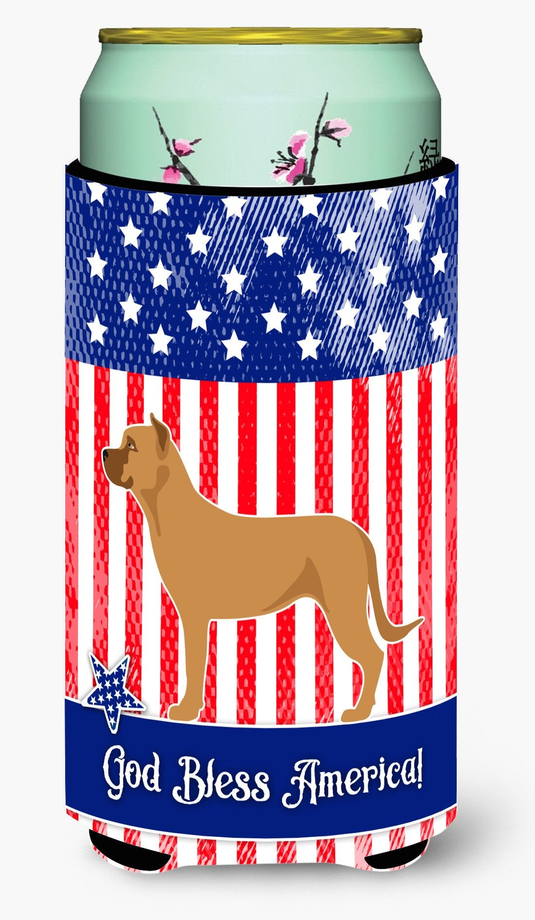 Alano Espanol Spanish Bulldog American Tall Boy Beverage Insulator Hugger BB8425TBC by Caroline's Treasures
