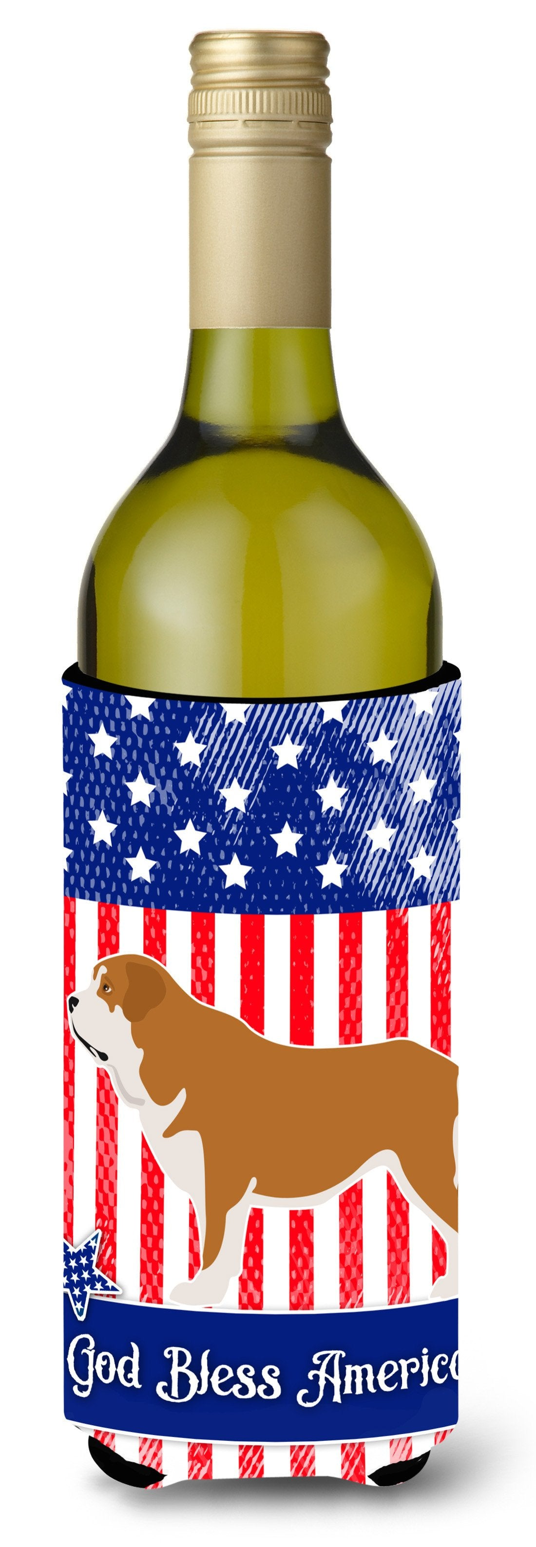 Mastin Epanol Spanish Mastiff American Wine Bottle Beverge Insulator Hugger BB8430LITERK by Caroline's Treasures