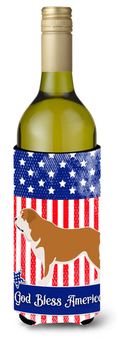 Buy this Mastin Epanol Spanish Mastiff American Wine Bottle Beverge Insulator Hugger BB8430LITERK