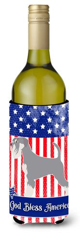 Buy this Schnauzer American Wine Bottle Beverge Insulator Hugger BB8431LITERK