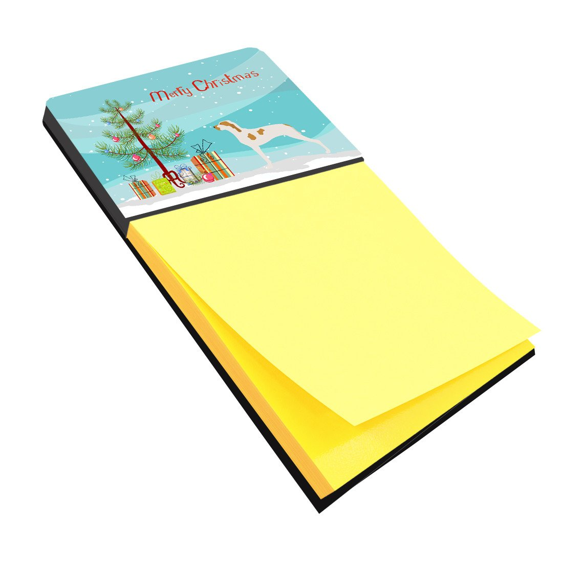 Ariege Pointer Christmas Sticky Note Holder BB8434SN by Caroline's Treasures