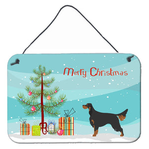 Buy this Gordon Setter Christmas Wall or Door Hanging Prints BB8436DS812