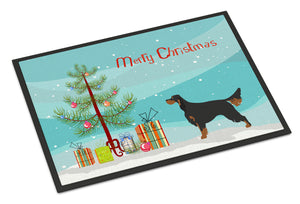 Buy this Gordon Setter Christmas Indoor or Outdoor Mat 18x27 BB8436MAT