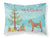 Irish Terrier Christmas Fabric Standard Pillowcase BB8438PILLOWCASE by Caroline's Treasures