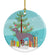 Buy this Weimaraner Christmas Ceramic Ornament BB8442CO1