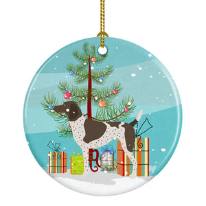 Buy this German Shorthaired Pointer Christmas Ceramic Ornament BB8445CO1