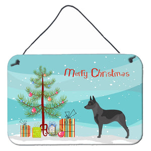 Buy this Australian Cattle Dog Christmas Wall or Door Hanging Prints BB8451DS812