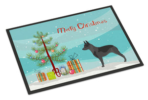 Buy this Australian Cattle Dog Christmas Indoor or Outdoor Mat 18x27 BB8451MAT