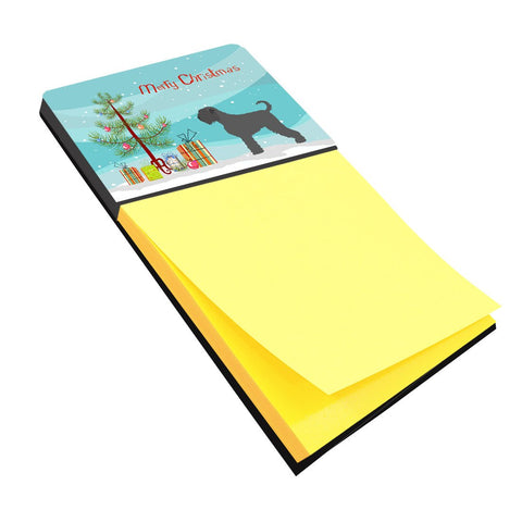 Buy this Black Russian Terrier Christmas Sticky Note Holder BB8455SN