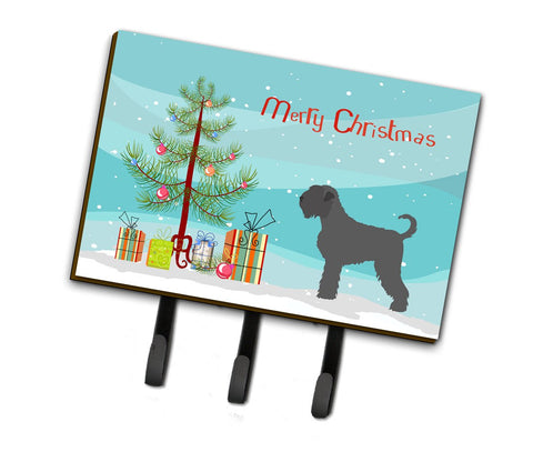 Buy this Black Russian Terrier Christmas Leash or Key Holder BB8455TH68