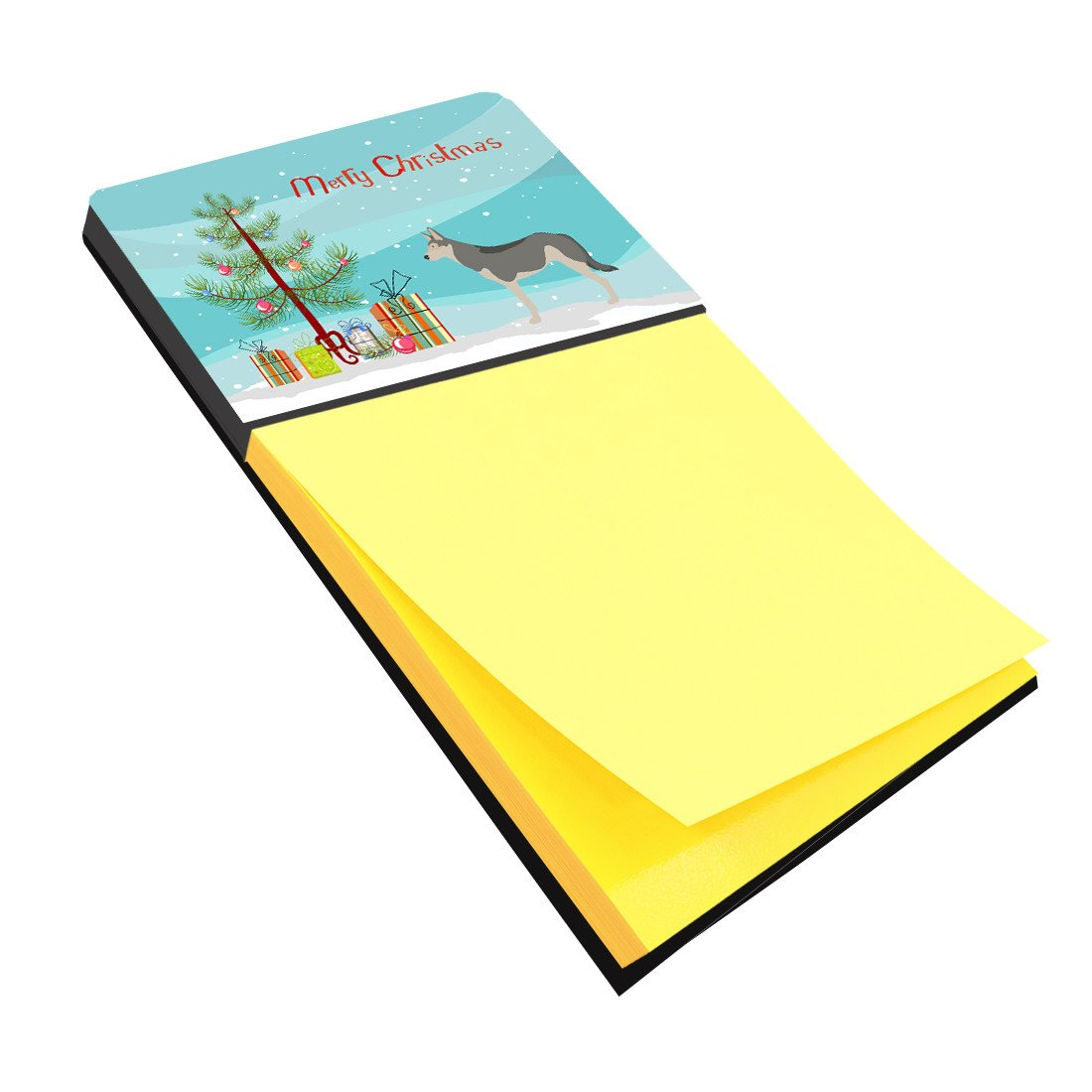 Buy this Saarloos Wolfdog Christmas Sticky Note Holder BB8458SN