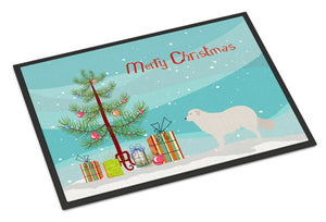 Buy this Kuvasz Christmas Indoor or Outdoor Mat 24x36 BB8467JMAT