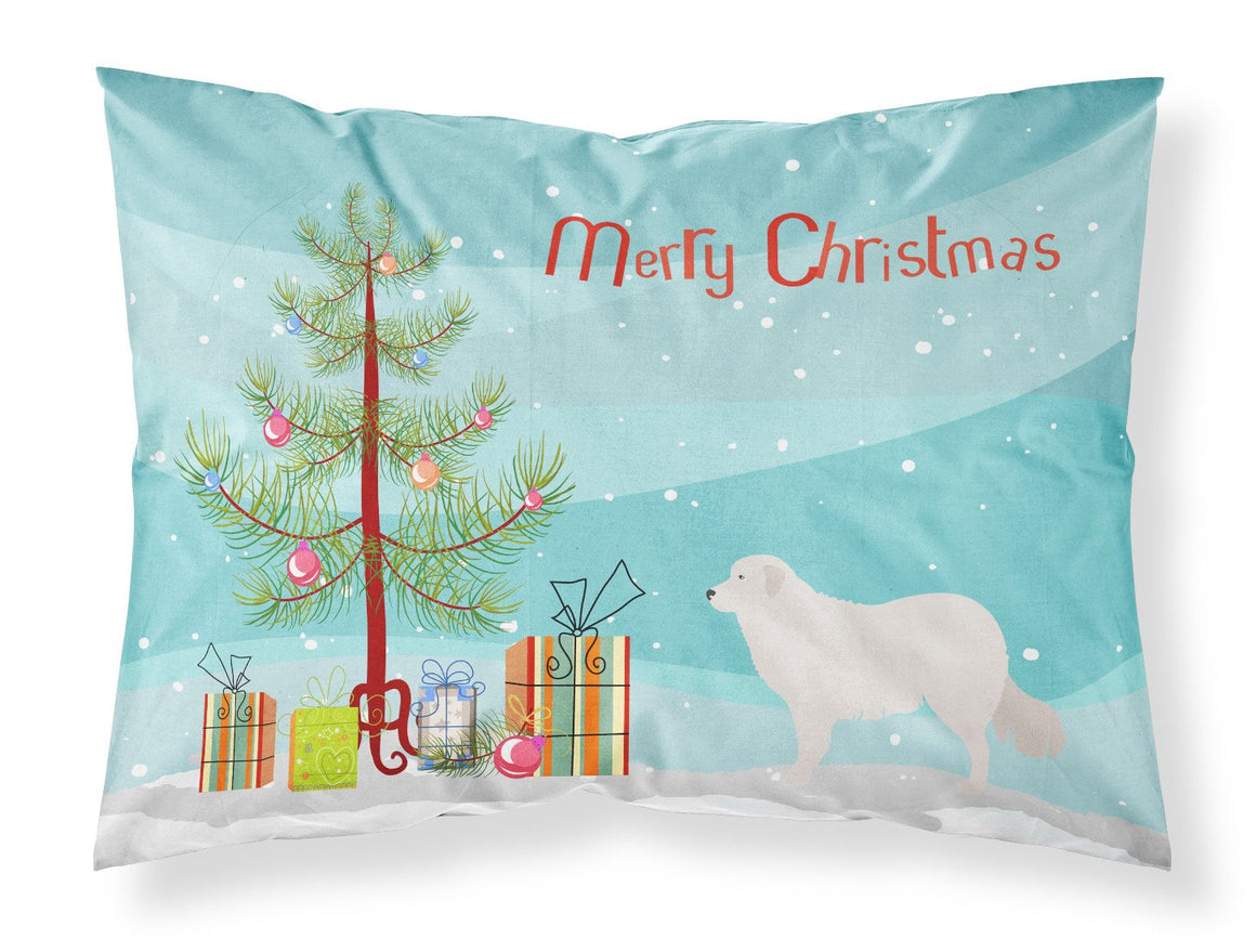 Buy this Kuvasz Christmas Fabric Standard Pillowcase BB8467PILLOWCASE