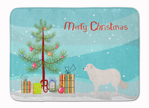 Buy this Kuvasz Christmas Machine Washable Memory Foam Mat BB8467RUG