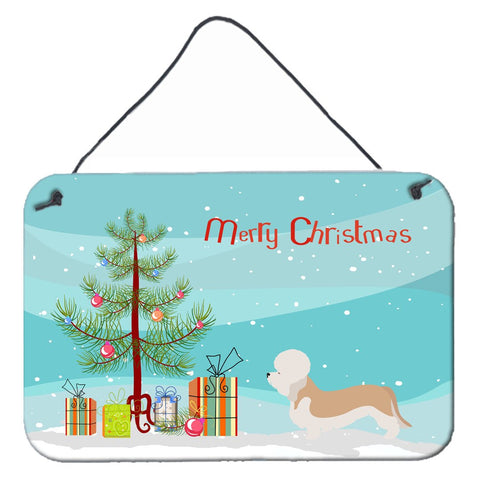 Buy this Dandie Dinmont Terrier Christmas Wall or Door Hanging Prints BB8474DS812