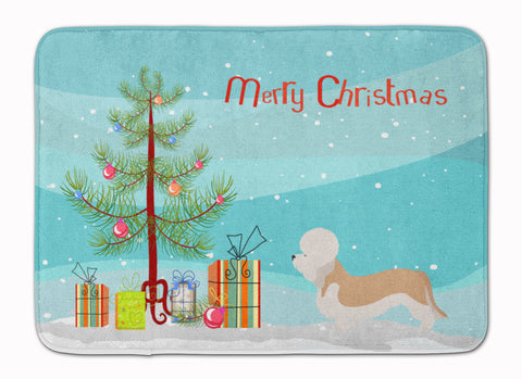 Buy this Dandie Dinmont Terrier Christmas Machine Washable Memory Foam Mat BB8474RUG