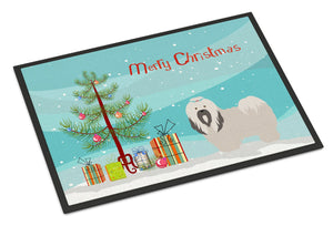 Buy this Lhasa Apso Christmas Indoor or Outdoor Mat 24x36 BB8481JMAT