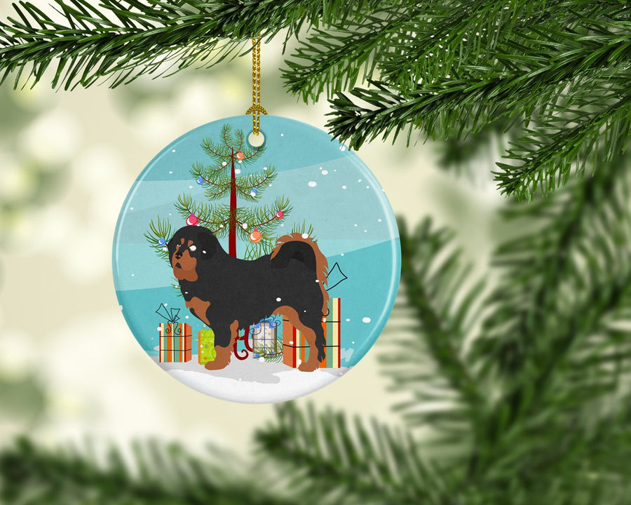 Buy this Tibetan Mastiff Christmas Ceramic Ornament BB8488CO1