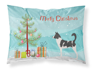 Buy this Canaan Dog Christmas Fabric Standard Pillowcase BB8491PILLOWCASE