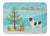 Landseer Christmas Machine Washable Memory Foam Mat BB8493RUG by Caroline's Treasures
