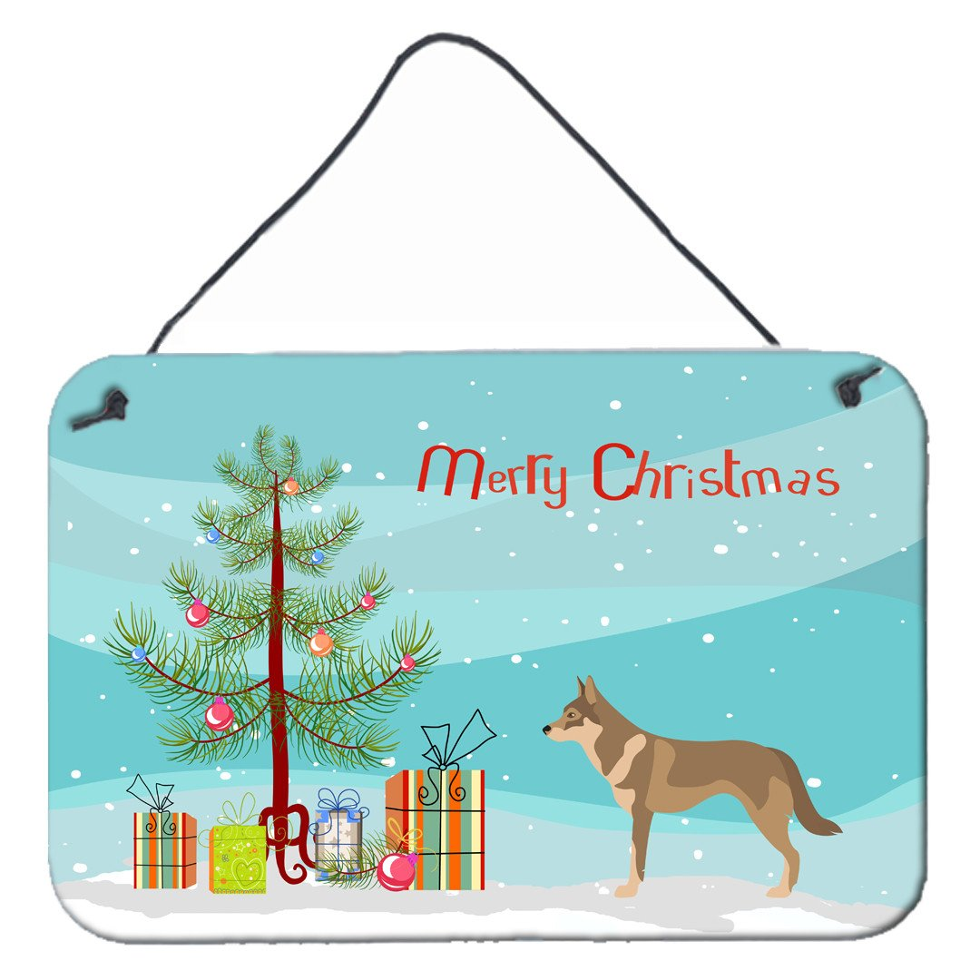 Buy this Czechoslovakian Wolfdog Christmas Wall or Door Hanging Prints BB8497DS812