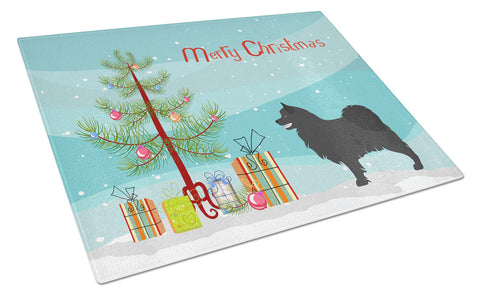 Buy this Swedish Lapphund Christmas Glass Cutting Board Large BB8509LCB