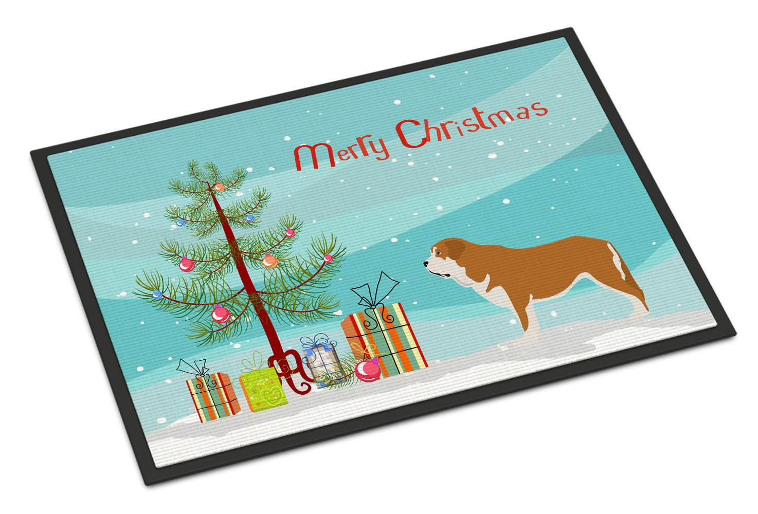 Mastin Epanol Spanish Mastiff Christmas Indoor or Outdoor Mat 24x36 BB8511JMAT by Caroline's Treasures