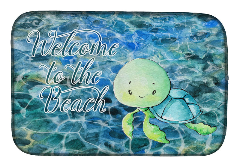 Buy this Sea Turtle Welcome Dish Drying Mat BB8520DDM