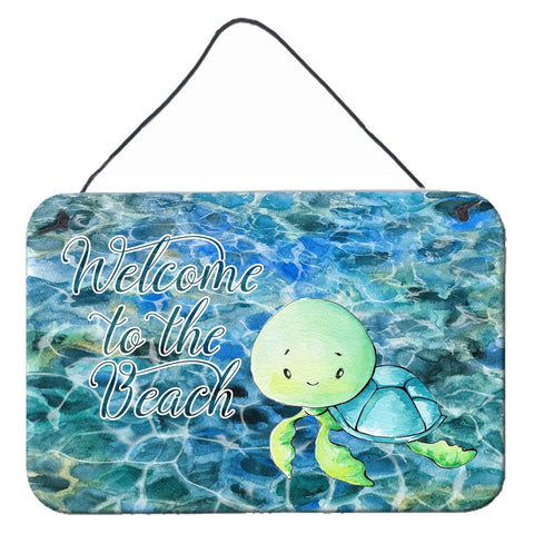 Buy this Sea Turtle Welcome Wall or Door Hanging Prints BB8520DS812