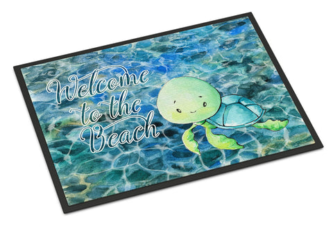 Buy this Sea Turtle Welcome Indoor or Outdoor Mat 24x36 BB8520JMAT