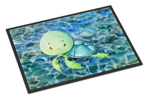 Buy this Sea Turtle Indoor or Outdoor Mat 24x36 BB8525JMAT
