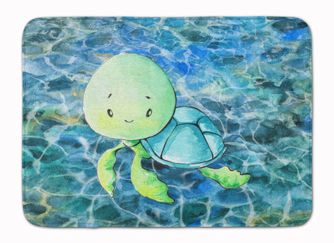 Buy this Sea Turtle Machine Washable Memory Foam Mat BB8525RUG