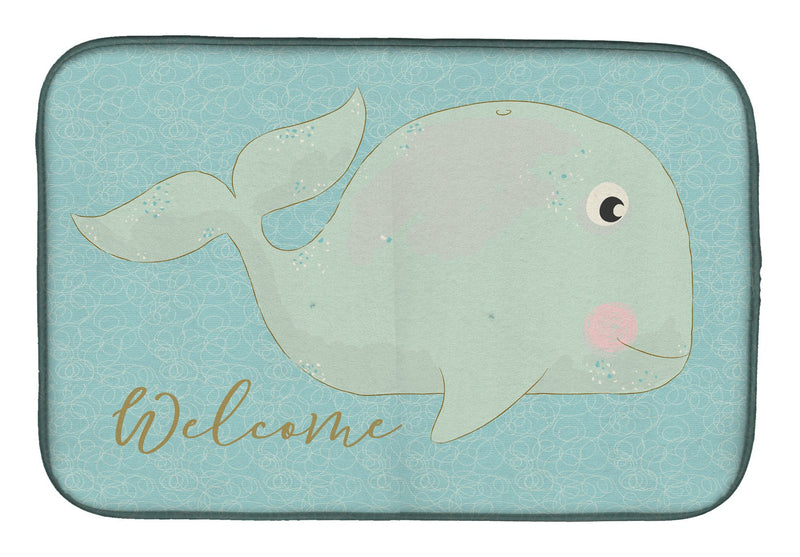 Buy this Whale Welcome Dish Drying Mat BB8533DDM