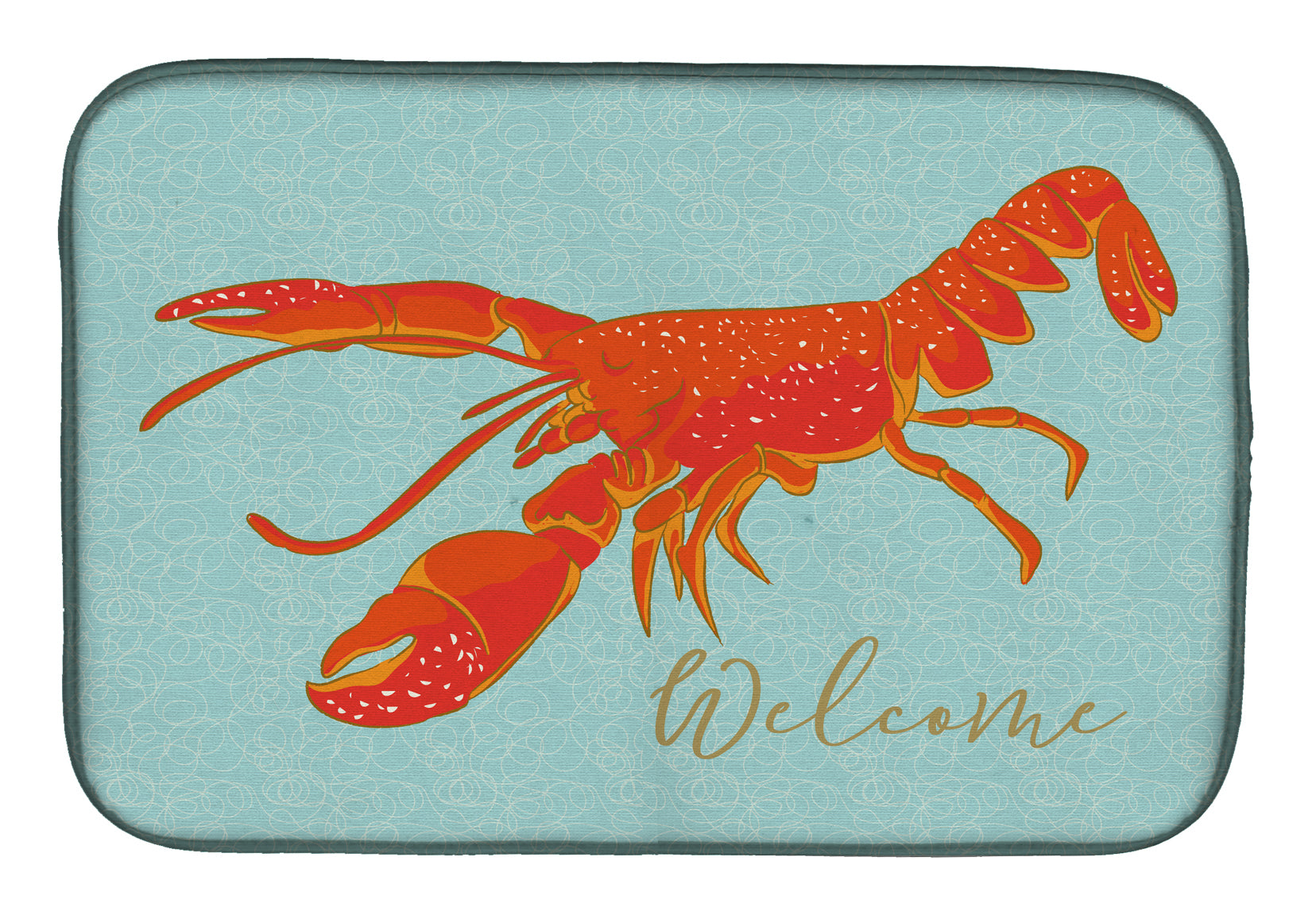 Buy this Lobster Welcome Dish Drying Mat BB8534DDM