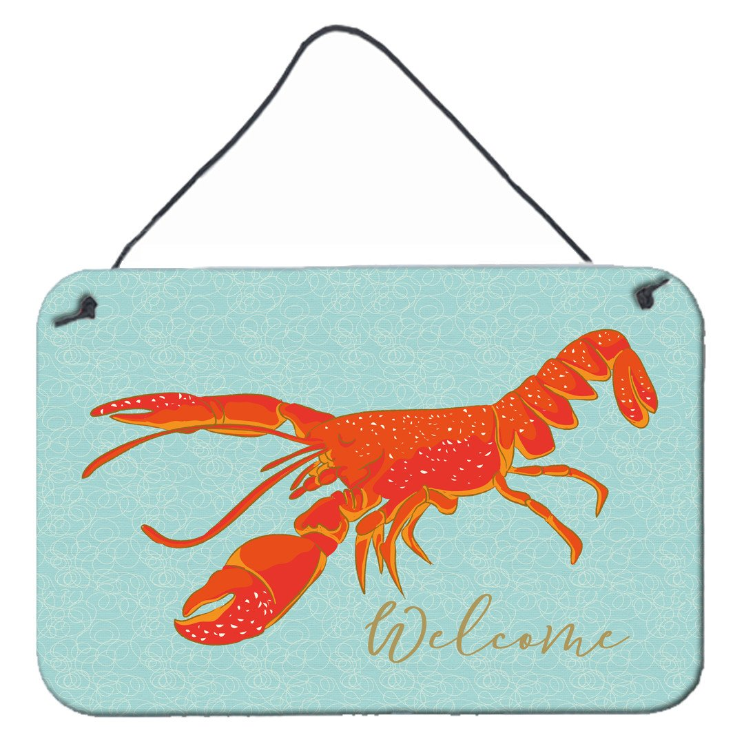 Buy this Lobster Welcome Wall or Door Hanging Prints BB8534DS812