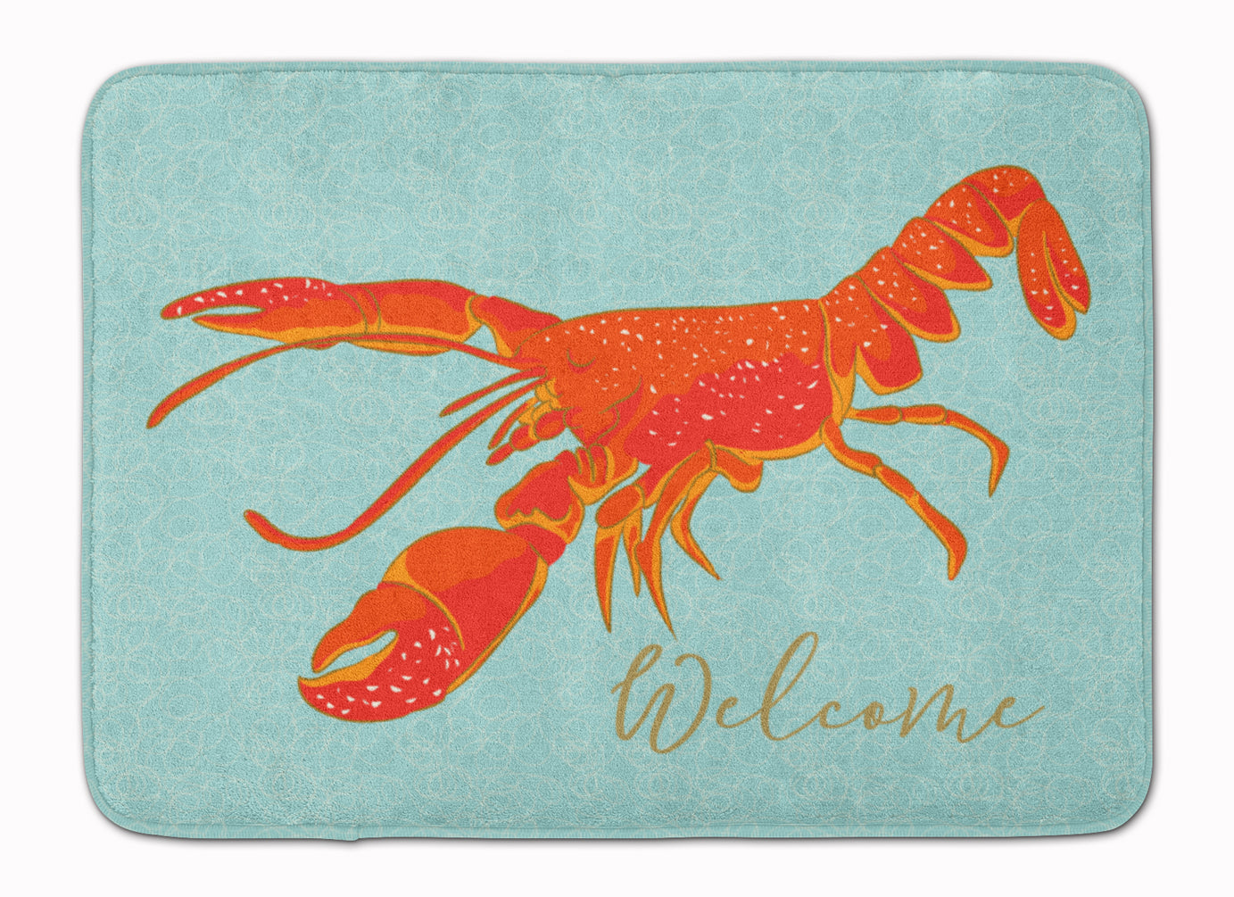 Buy this Lobster Welcome Machine Washable Memory Foam Mat BB8534RUG