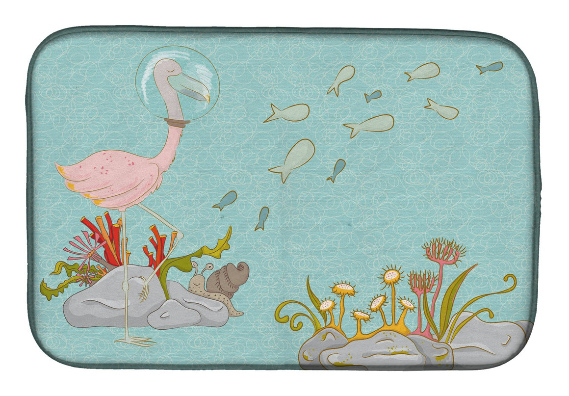 Buy this Flamingo Underwater Dish Drying Mat BB8535DDM
