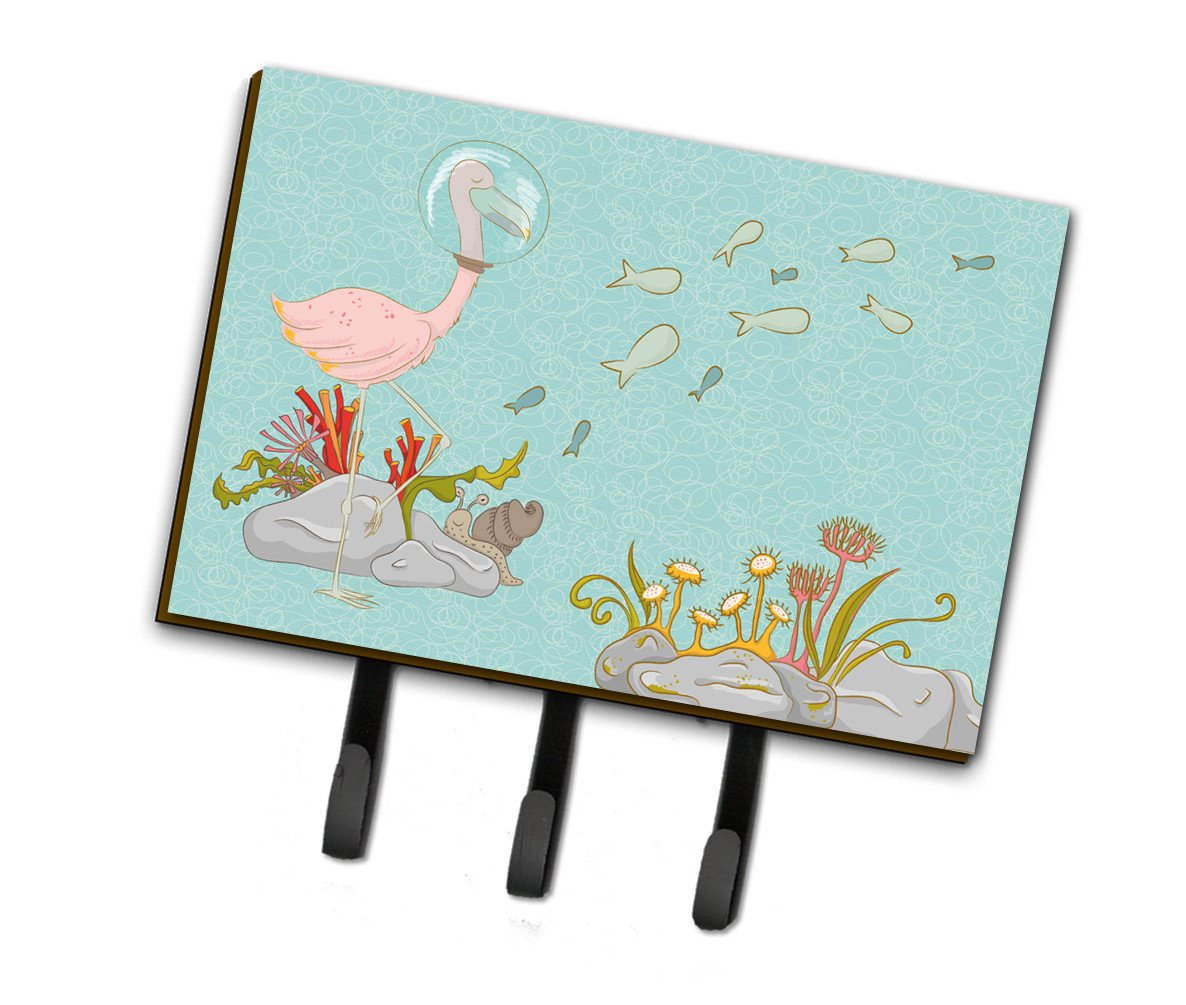 Flamingo Underwater Leash or Key Holder BB8535TH68 by Caroline's Treasures