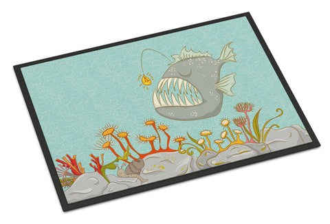 Buy this Frog Fish Scene Indoor or Outdoor Mat 18x27 BB8536MAT