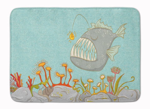 Buy this Frog Fish Scene Machine Washable Memory Foam Mat BB8536RUG