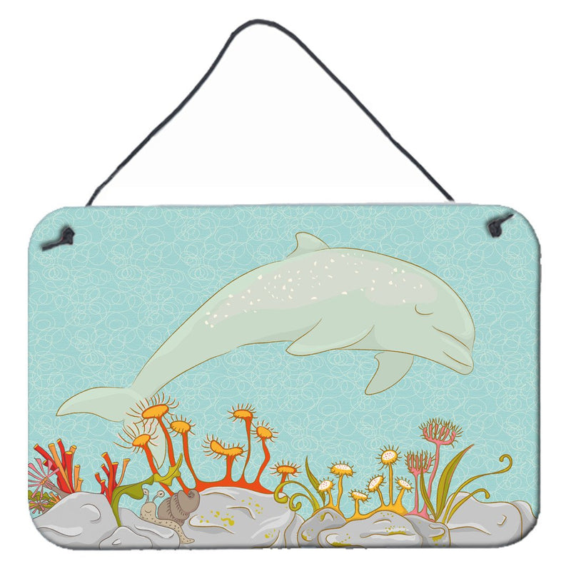 Buy this Dolphin Underwater Scene Wall or Door Hanging Prints BB8537DS812