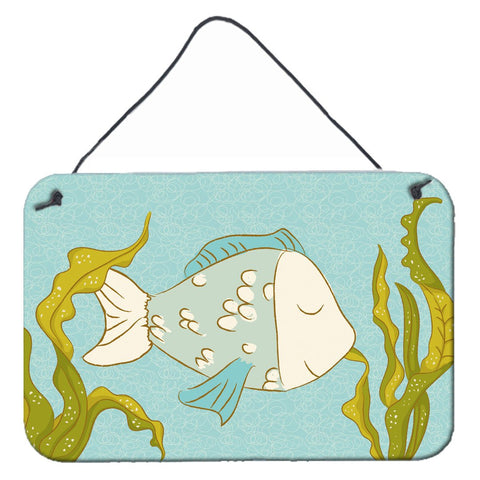 Buy this Blue Fish Wall or Door Hanging Prints BB8545DS812