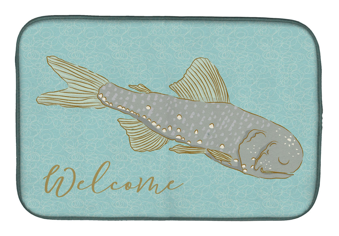 Buy this Fish Welcome Dish Drying Mat BB8550DDM