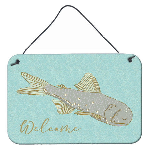 Buy this Fish Welcome Wall or Door Hanging Prints BB8550DS812