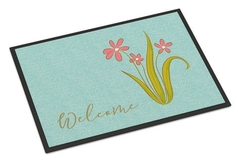 Buy this Flowers Welcome Indoor or Outdoor Mat 24x36 BB8552JMAT